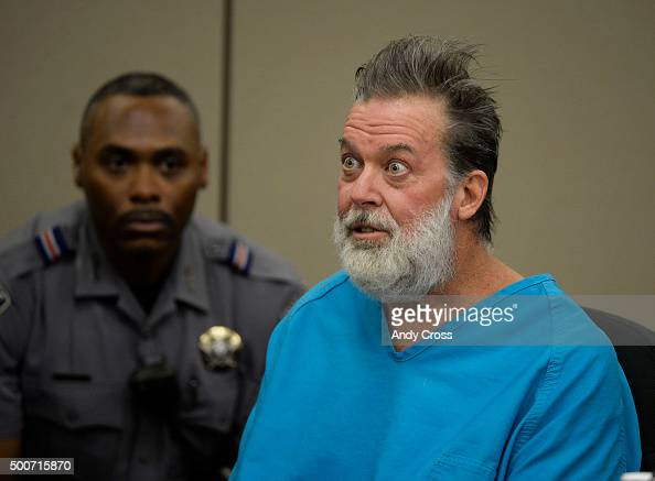 Robert Dear Jr during an outburst while talking directly to Judge Gilbert Martinez during a court appearance December 09 2015 where El Paso County...