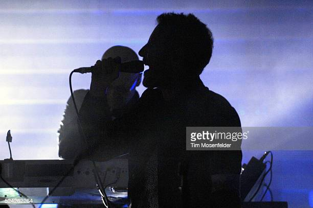 Robert Del Naja aka 3D of Massive Attack performs as part of Day Two of the Sasquatch Music Festival at the Gorge Amphitheatre in Quincy Washington