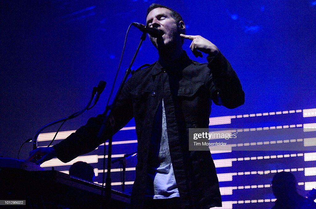 Robert Del Naja aka 3D of Massive Attack performs as part of the Sasquatch Music Festival at the Gorge Amphitheatre on May 30, 2010 in George, Washington.