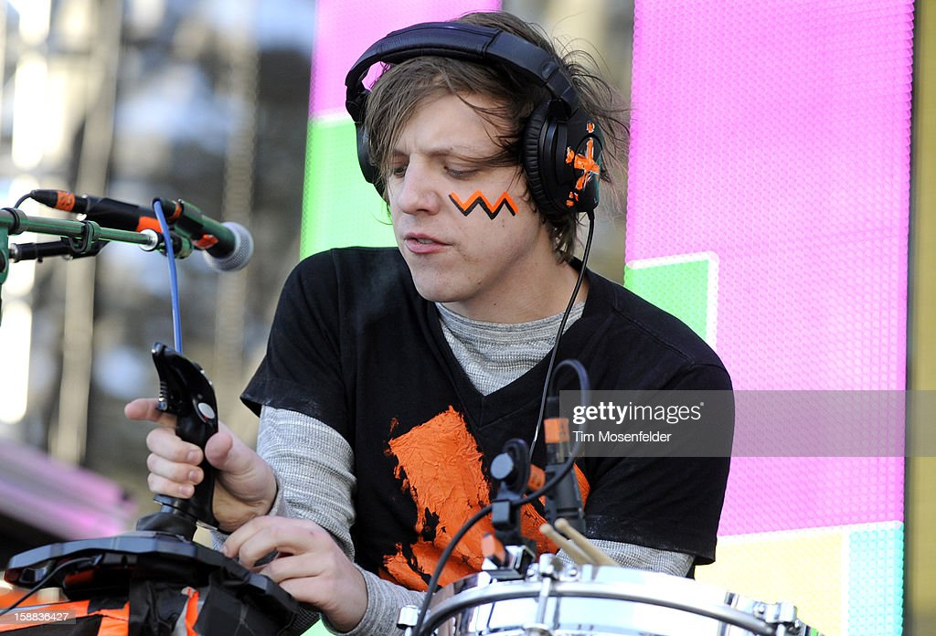 Robert DeLong performs during the Snowglobe Music Festival at Lake Tahoe Community College on December 30, 2012 in South Lake Tahoe, CA.