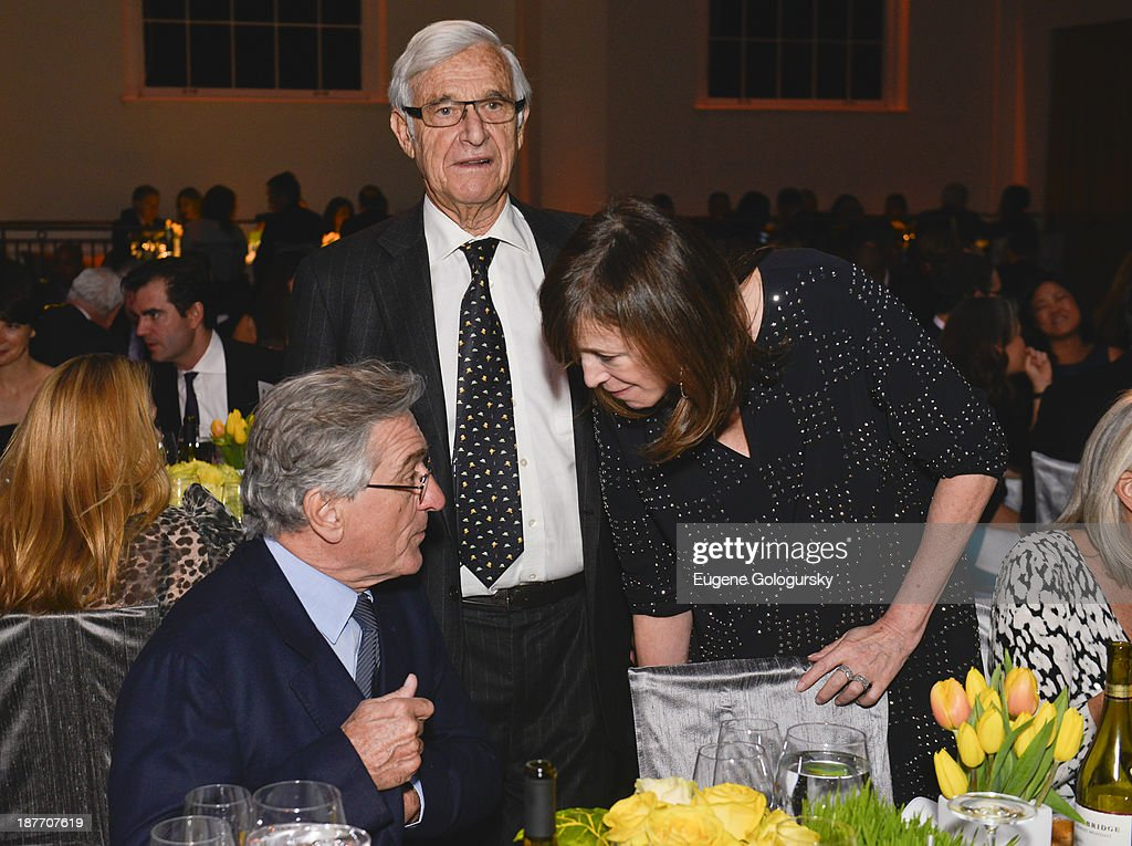 Robert DeNiro and Alan Patricof attend the The East Harlem School 2013 Fall Benefit Honoring Susan And Alan Patricof on November 11, 2013 in New York City.