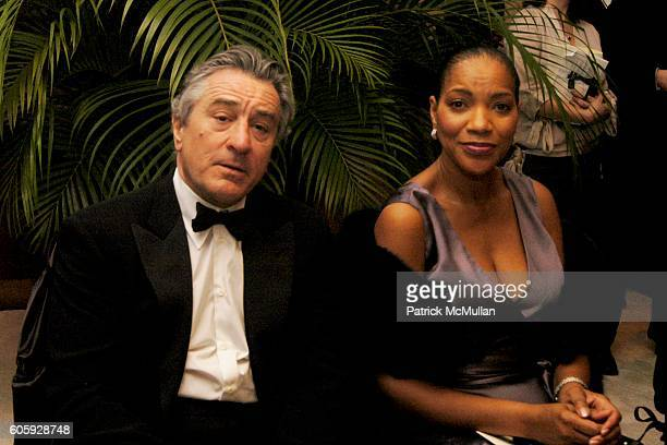 Robert DeNiro and Grace Hightower attend The JUILLIARD Centennial Gala Live at Lincoln Center at The Juilliard School on April 3 2006 in New York City