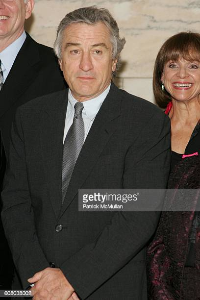 Robert DeNiro and Valerie Harper attend AARP The Magazine Announces the Winners of the 2006 Impact Awards at New York Public Library on December 18...