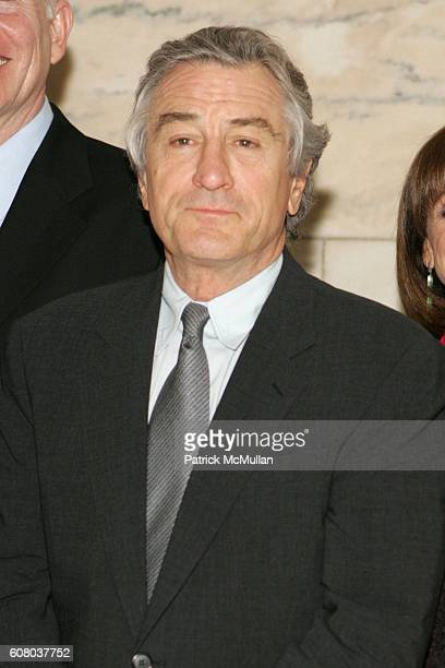 Robert DeNiro attends AARP The Magazine Announces the Winners of the 2006 Impact Awards at New York Public Library on December 18 2006 in New York...