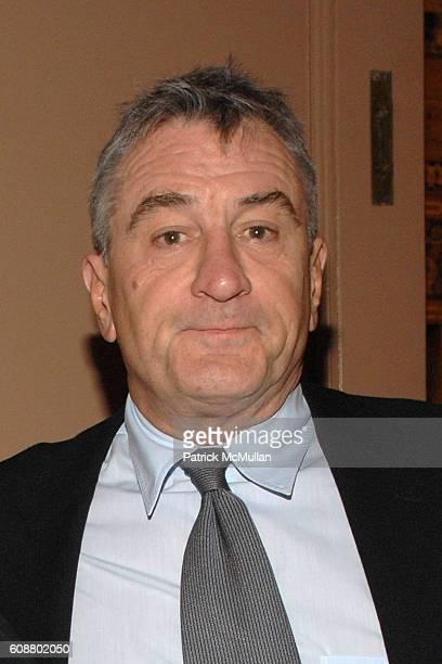 Robert DeNiro attends AMERICAN BALLET THEATRE 2007 Fall Gala at City Center Mandarin Oriental Hotel on October 23 2007 in New York City