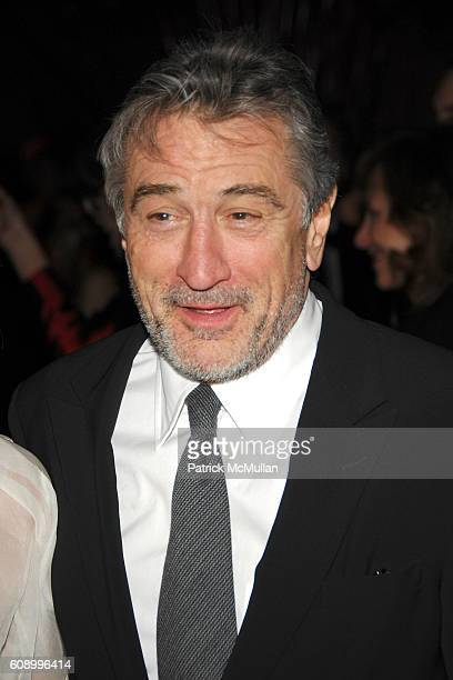 Robert DeNiro attends AMERICAN BALLET THEATRE 67th Annual Spring Gala at Metropolitan Opera House on May 14 2007 in New York City