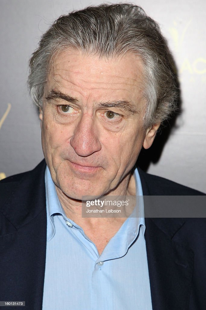 Robert DeNiro attends the 2nd AACTA International Awards at Soho House on January 26, 2013 in West Hollywood, California.