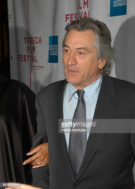 Robert DeNiro attends The Interpreter screening Arrivals and AfterParty at Ziegfeld Theater and MOMA on April 19 2005 in New York City