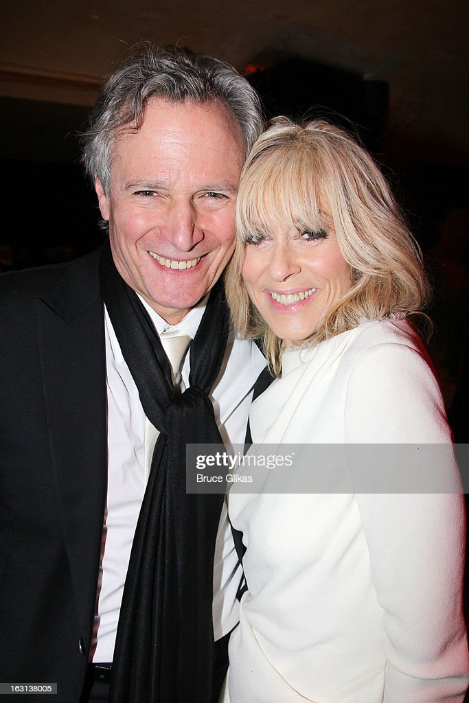 Robert Desiderio and wife <a gi-track='captionPersonalityLinkClicked' href=/galleries/search?phrase=Judith+Light&family=editorial&specificpeople=214207 ng-click='$event.stopPropagation()'>Judith Light</a> attend MCC Theater Company's Miscast 2013 at Hammerstein Ballroom on March 4, 2013 in New York City.