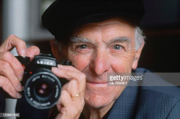 Robert Doisneau in 1992 Famous photographer