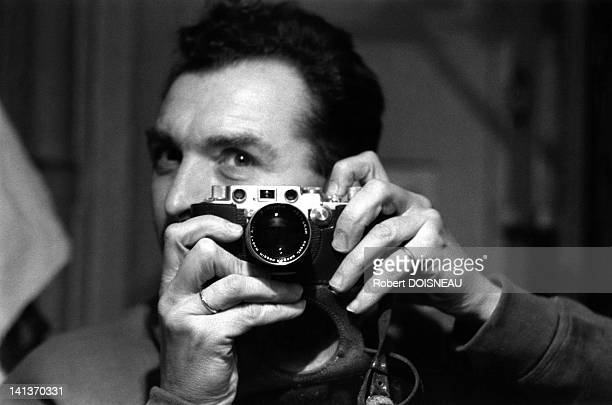 Robert Doisneau's selfportrait France in 1956