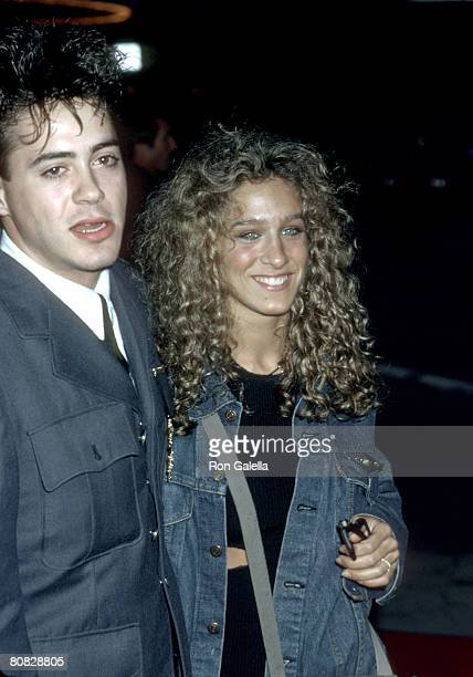 Robert Downey Jr and Sarah Jessica Parker