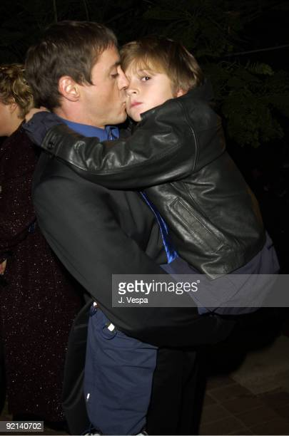 Robert Downey Jr and son Indio FalconerDowney at the Silver LiningSilver Lake Presents The 2nd Annual Silver Lining Benefit For The Hollywood Sunset...