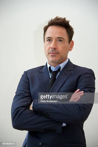 Robert Downey Jr at 'The Judge' Press Conference at the ShangriLa Hotel on September 5 2014 in Toronto Ontario