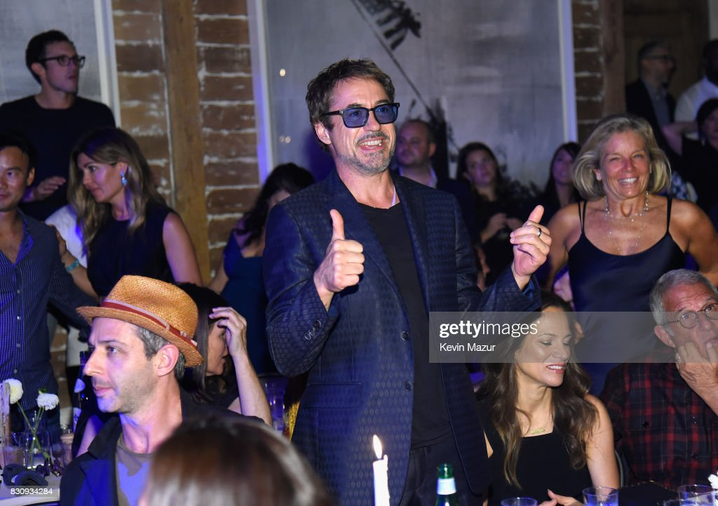 Robert Downey Jr. attends Apollo in the Hamptons 2017: hosted by Ronald O. Perelman at The Creeks on August 12, 2017 in East Hampton, New York.