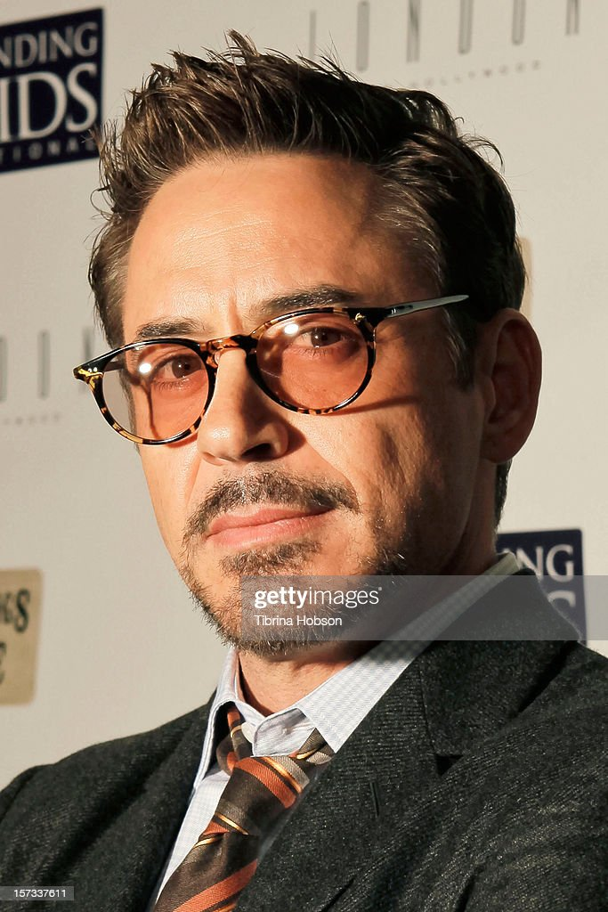 Robert Downey Jr. attends the Mending Kids International celebrity poker tournament at The London Hotel on December 1, 2012 in West Hollywood, California.