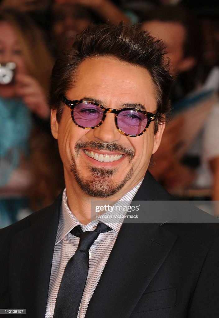 <a gi-track='captionPersonalityLinkClicked' href=/galleries/search?phrase=Robert+Downey+Jr.&family=editorial&specificpeople=204137 ng-click='$event.stopPropagation()'>Robert Downey Jr.</a> attends the UK premiere of Marvel Avengers Assemble at Vue West End on April 19, 2012 in London, England.