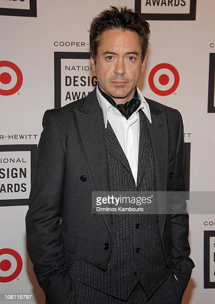 Robert Downey Jr during 2006 CooperHewitt National Design Awards Gala at CooperHewitt National Design Museum in New York City New York United States