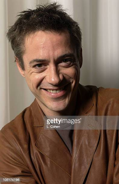 Robert Downey Jr during Robert Downey Jr Portrait Session in Hollywood California United States