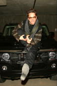 Robert Downey Jr has some fun with the GM Hummer H2 at the Village at The Lift