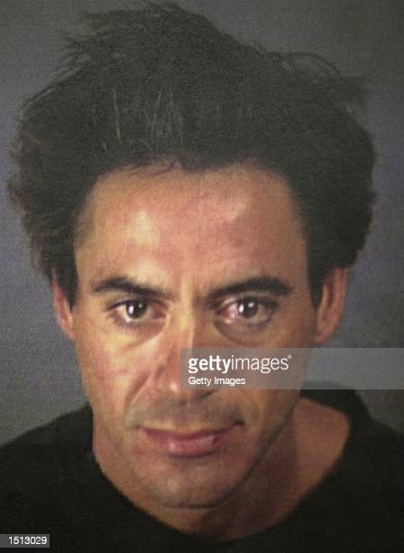 Robert Downey Jr is shown November 25 after his arrest at the Merv Griffin Resort in Palm Springs Calif for drug possession An anonymous caller led...