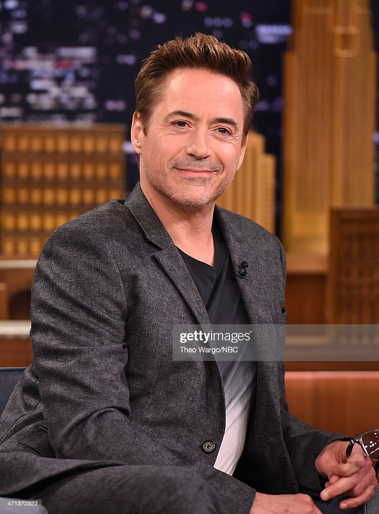 Robert Downey Jr. Visits 'The Tonight Show Starring Jimmy Fallon' at ... Robert Downey