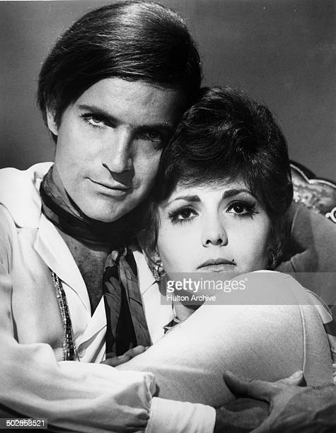 Robert Drivas and Brenda Vaccaro pose for the United Artist movie 'Where It's At' circa 1968