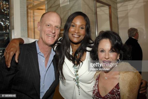 Robert Dupont Beverly Johnson and Nikki Haskell attend Mayor Antonio Villaraigosa celebrates Nikki Haskell's Birthday at Sierra Towers on May 17th...