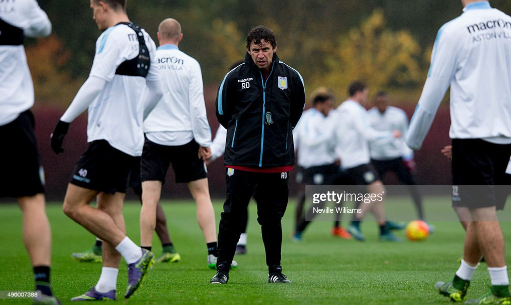 Aston Villa Training Session