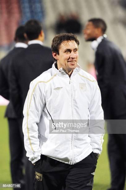 Robert DUVERNE Preparateur physique Lyon / Bordeaux 14eme journee de Ligue 1