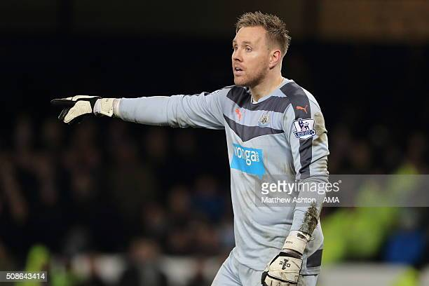 Robert Elliot of Newcastle United during the Barclays Premier League match between Everton and Newcastle United at Goodison Park on February 03 2016...