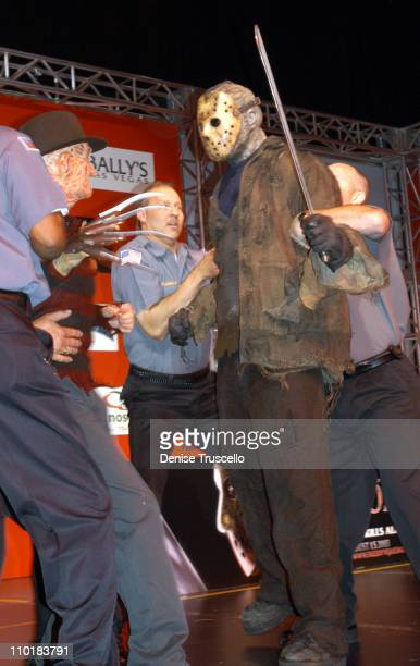 Robert Englund as Freddy Krueger and Ken Kirzinger as Jason Voorhees