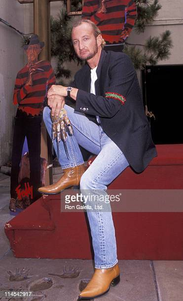 Robert Englund during 'Freddy's Dead The Final Nightmare' Hollywood Premiere at Mann's Chinese Theater in Hollywood California United States