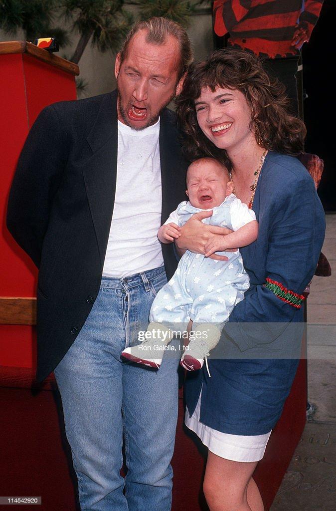Robert Englund Heather Langenkamp and her son David Atticus Anderson