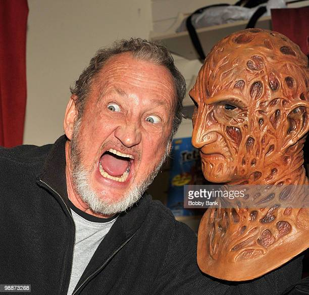Robert Englund promotes 'Hollywood Monster' at Bookends on October 28 2009 in Ridgewood New Jersey
