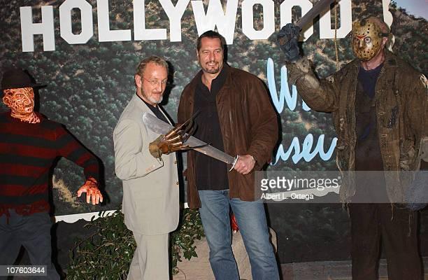 Robert Englund with Freddy Krueger and Ken Kirzinger with Jason Voorhees
