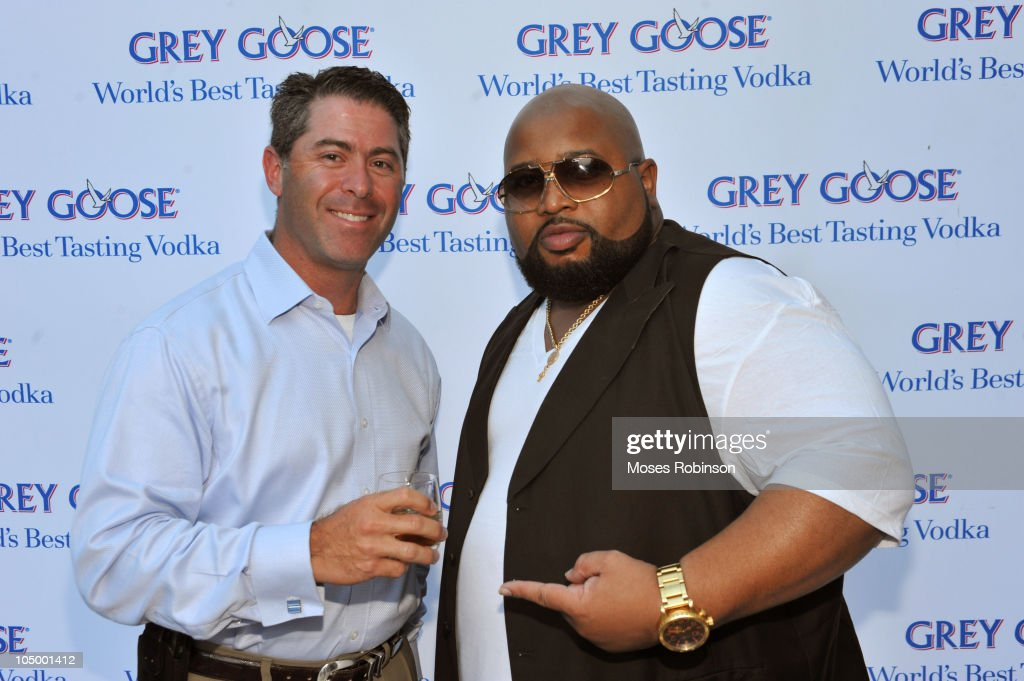 Robert Epstein and Jazzy Pha attend the Grey Goose summer soiree on July 1, 2010 in Atlanta, Georgia.
