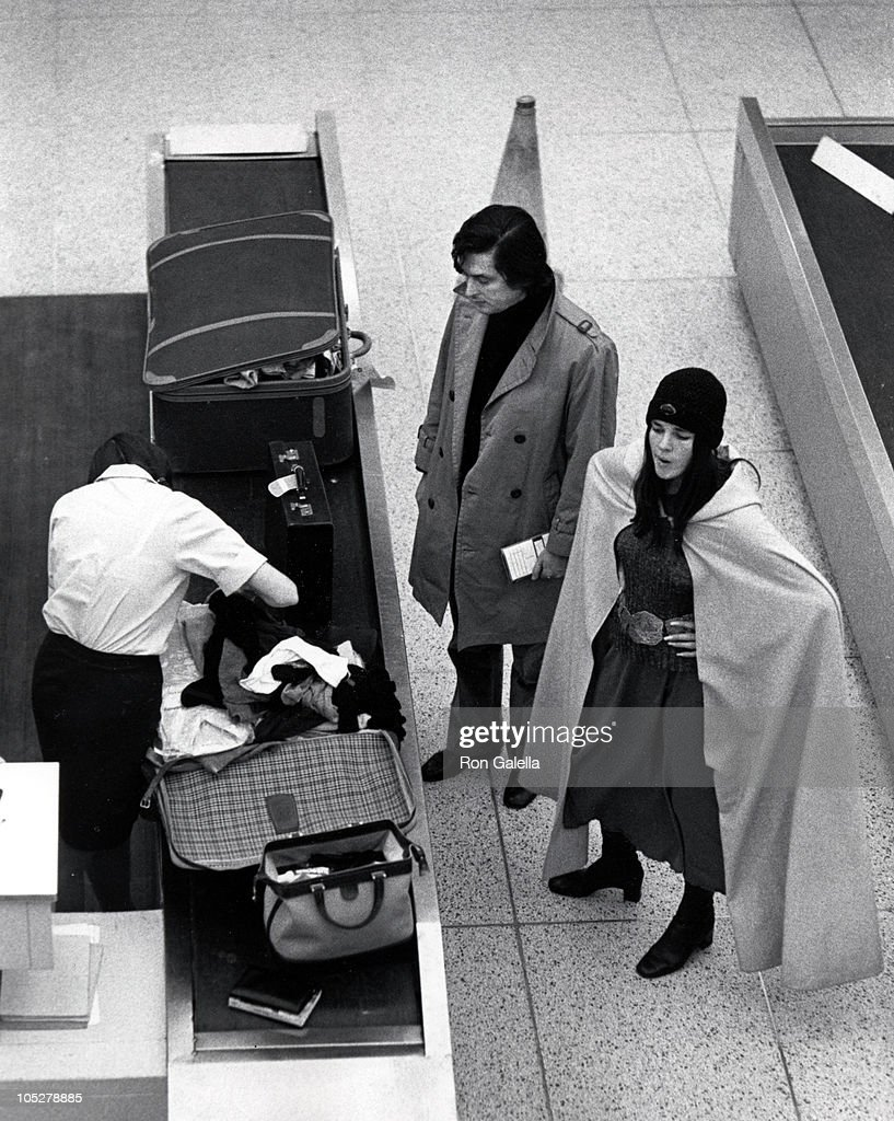 Robert Evans and Ali MacGraw during Ali MacGraw and Robert Evans Arriving from Paris at JFK Airport in New York City NY United States