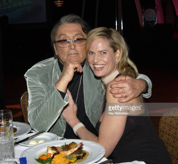 Robert Evans and Wife Leslie Ann during The 8th Annual Palm Beach International Film Festival Grand Gala Awards Ceremony at Boca Raton Resort Club in...