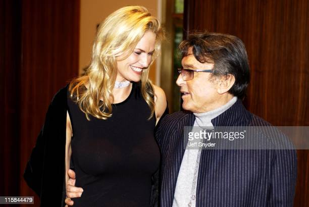 Robert Evans and wife LeslieAnn Woodward during Robert Evans HBO Screening of 'The Kid Stays In The Picture' at Motion Picture Association of America...