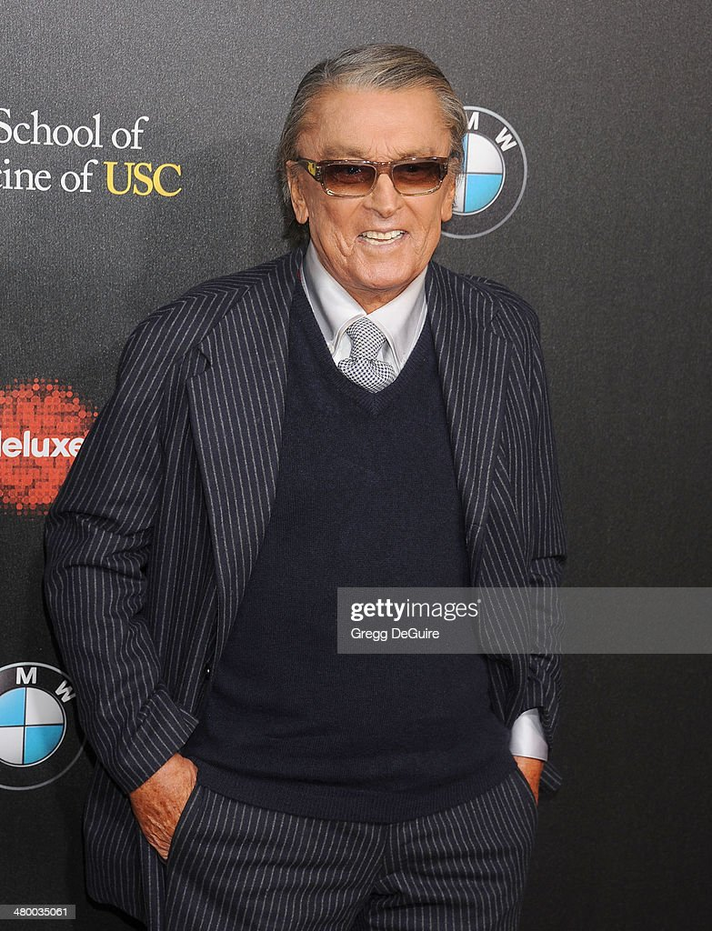 Robert Evans arrives at the 2nd Annual Rebel With A Cause Gala at Paramount Studios on March 20, 2014 in Hollywood, California.