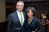 Robert F Kennedy Jr and Jennifer Jones Austin attend the 2016 NAN 'Keepers Of The Dream' Dinner and Awards Ceremony at the Sheraton New York Hotel...