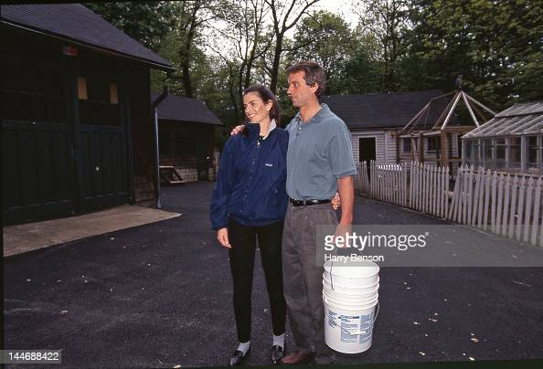 Robert F Kennedy Jr and wife Mary Richardson are photographed for Life Magazine in 1997 in Mt Kisco New York