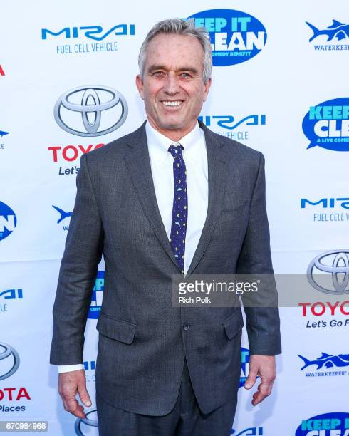 Robert F Kennedy Jr arrives at 'Keep It Clean' To Benefit Waterkeeper Alliance at Avalon on April 20 2017 in Hollywood California