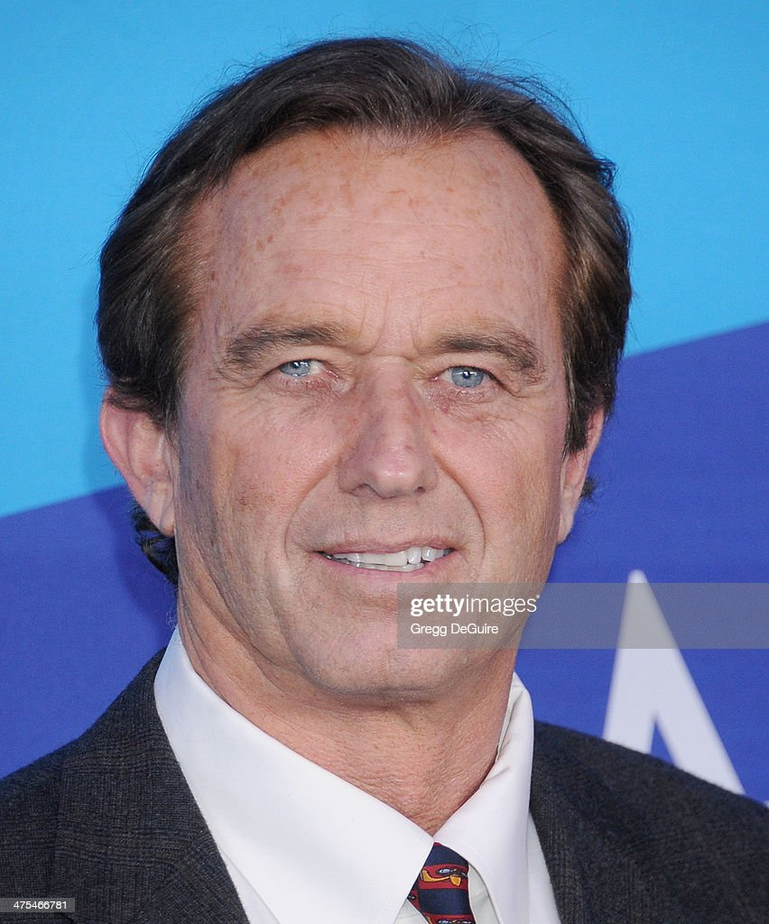 Robert F. Kennedy Jr. arrives at the 1st Annual Unite4:humanity event hosted by Unite4good and Variety at Sony Studios on February 27, 2014 in Los Angeles, California.
