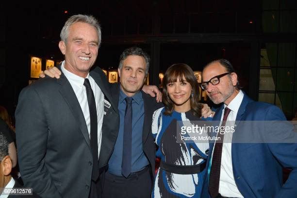 Robert F Kennedy Jr Mark Ruffalo Rashida Jones and Fisher Stevens attend The Turtle Conservancy's 4th Annual Turtle Ball at The Bowery Hotel on April...