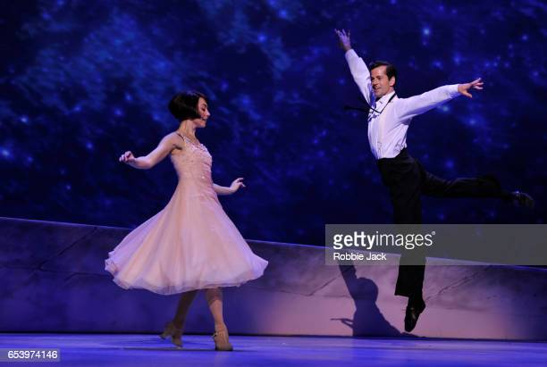 Robert Fairchild as Jerry Mulligan and Leanne Cope as Lise Dassin in An American in Paris choreographed and directed by Christopher Wheeldon at The...