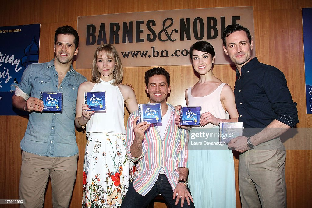 """""""American In Paris"""" Broadway Cast CD Signing And Performance"""