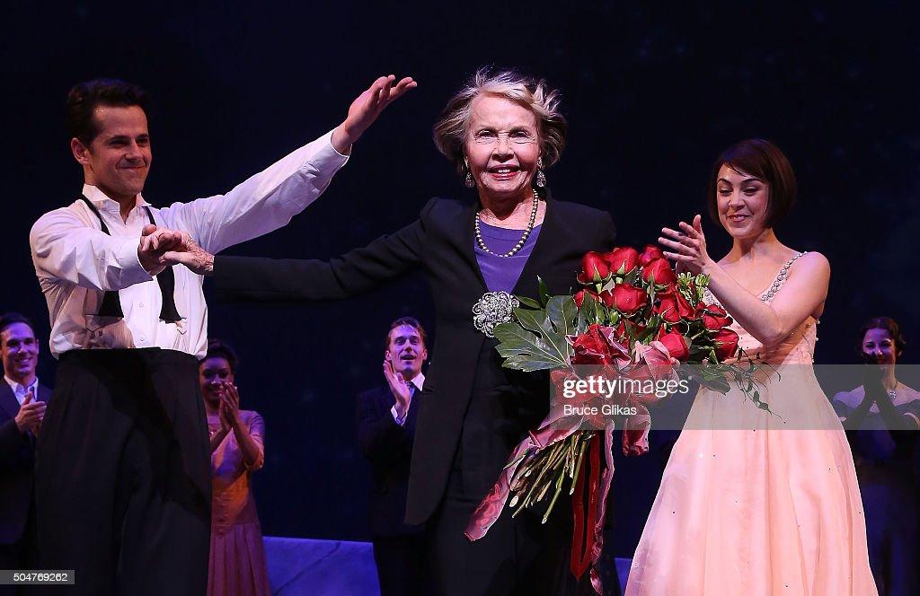 Celebrities Visit Broadway - January 12, 2016