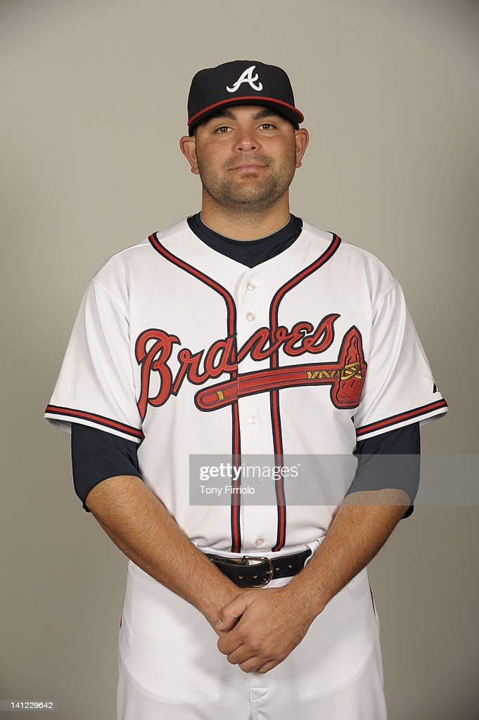 Robert Fish (52) of the Atlanta Braves poses during Photo Day on Wednesday, February 29, 2012 at Champion Stadium in Lake Buena Vista, Florida.